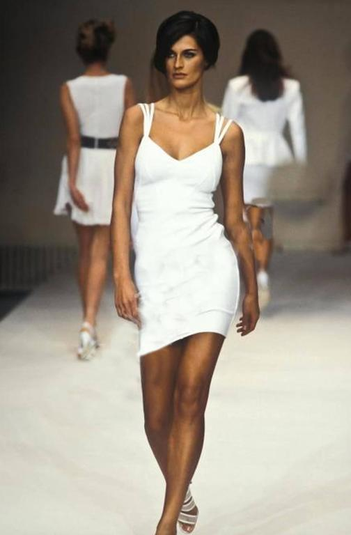 Women's Alaia spring summer collection dress,  1990  For Sale