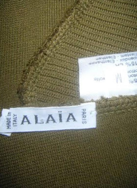 Alaia spring summer collection dress,  1990  For Sale 2