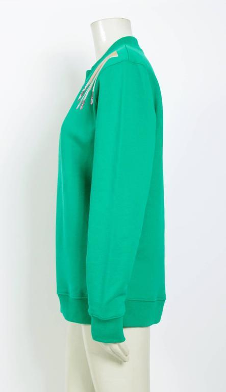 Raf Simons / Sterling Ruby 2014 Nails On Shoulder Print Sweatshirt 3