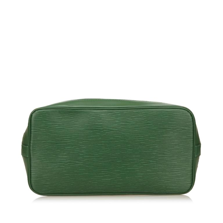 Louis Vuitton Green Epi Alma PM Hand Bag 2