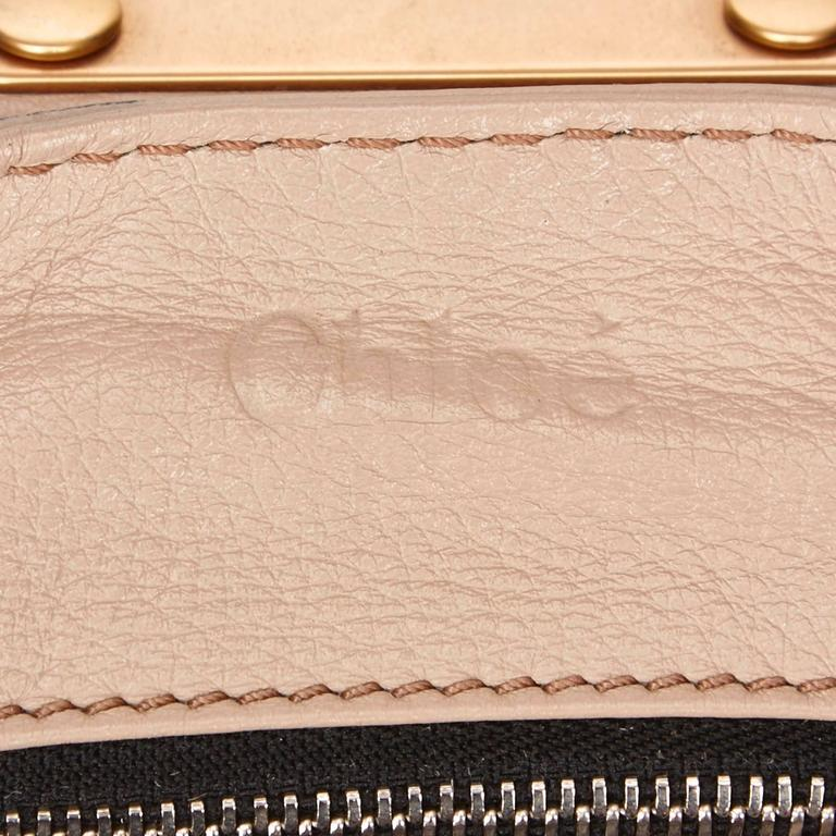 Chloe Beige Leather Paddington Shoulder Bag  For Sale 3