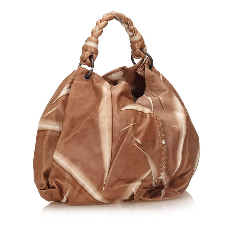 Bottega Veneta Brown Tie-Dye Aquilone Bag 2