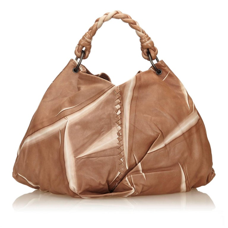 Bottega Veneta Brown Tie-Dye Aquilone Bag 3