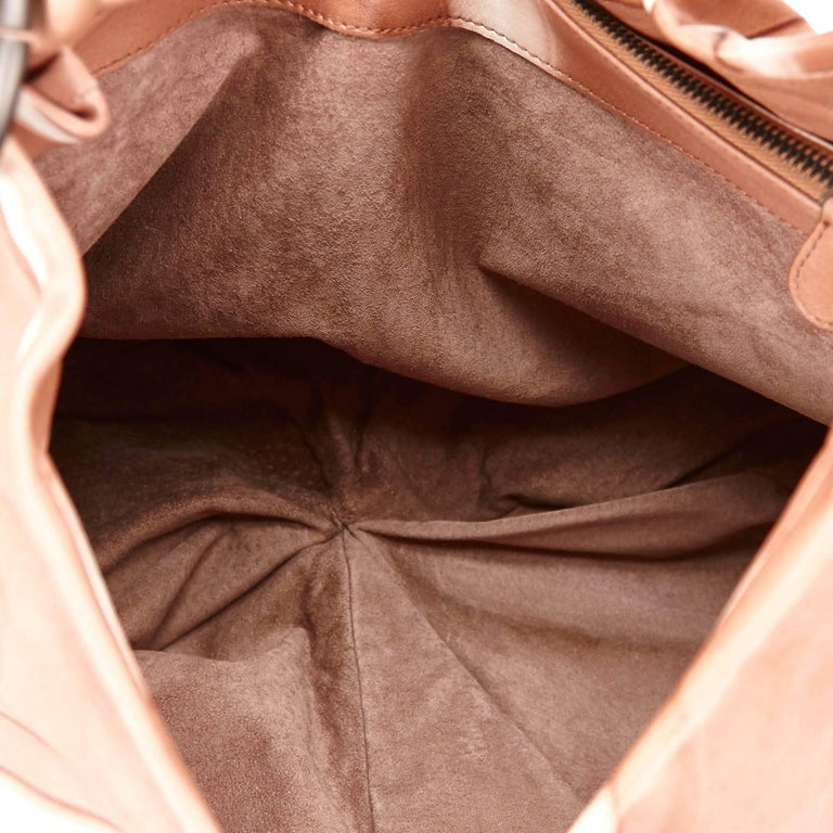 Bottega Veneta Brown Tie-Dye Aquilone Bag 6