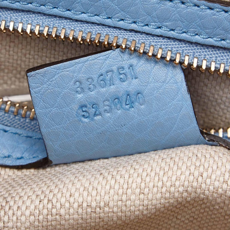 Gucci White Soho Canvas Handbag 7