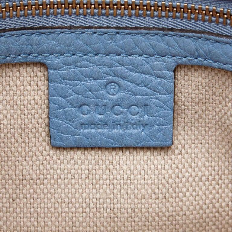Gucci White Soho Canvas Handbag 6