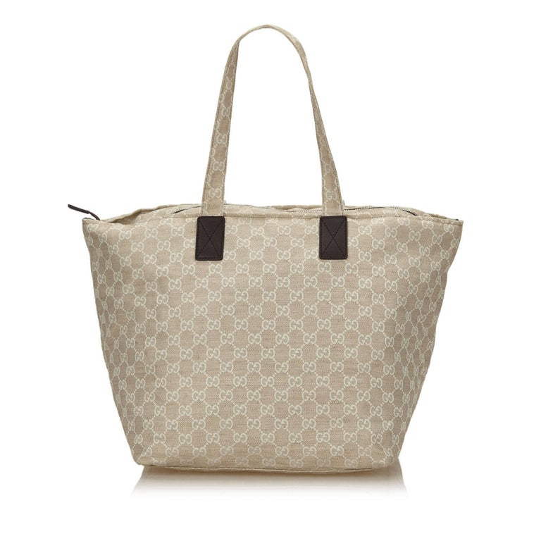 Brown Gucci Gray Museo Shoulder Bag For