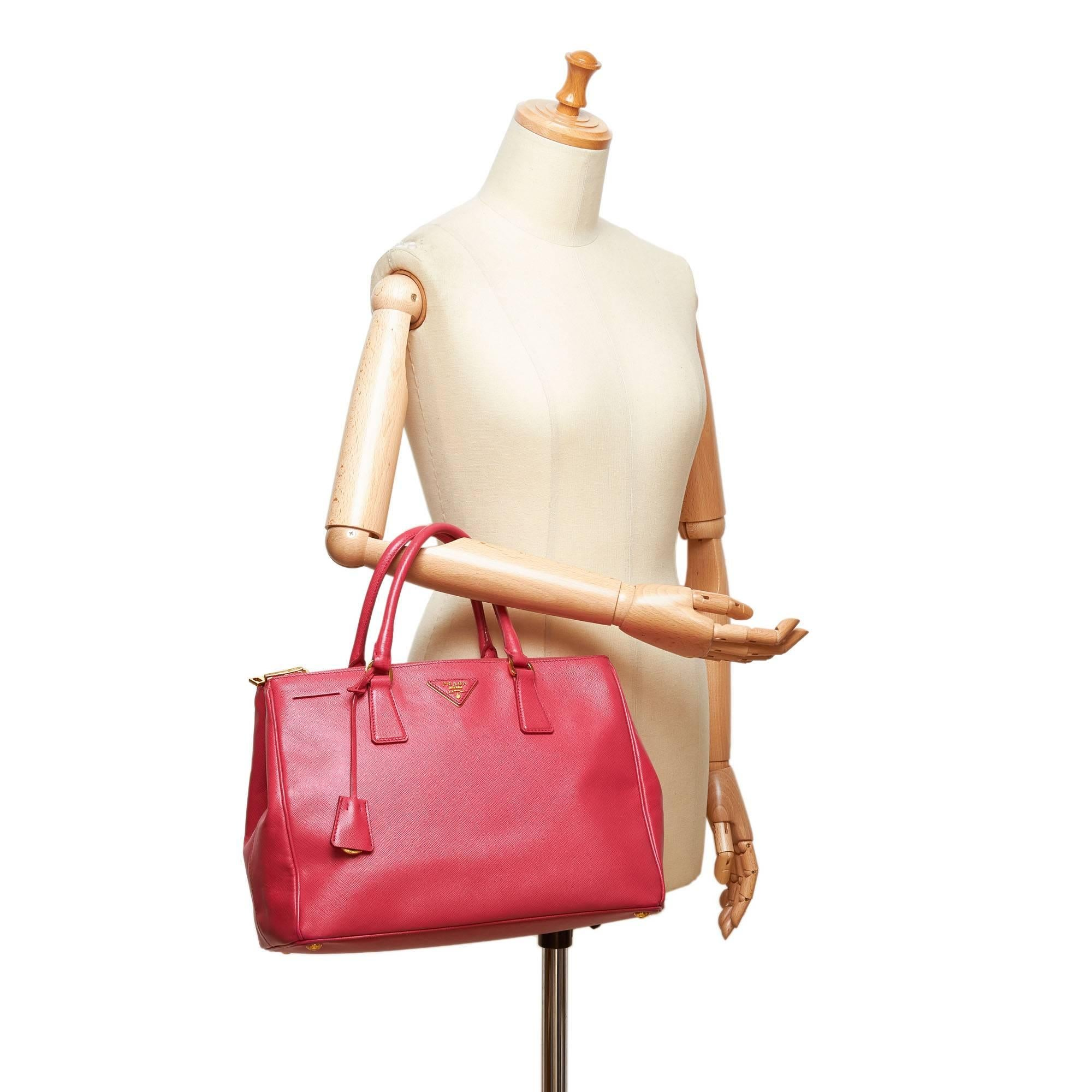 a5f9b2580efc ... denmark prada galleria saffiano small leather bag in white talco source  prada pink saffiano leather galleria