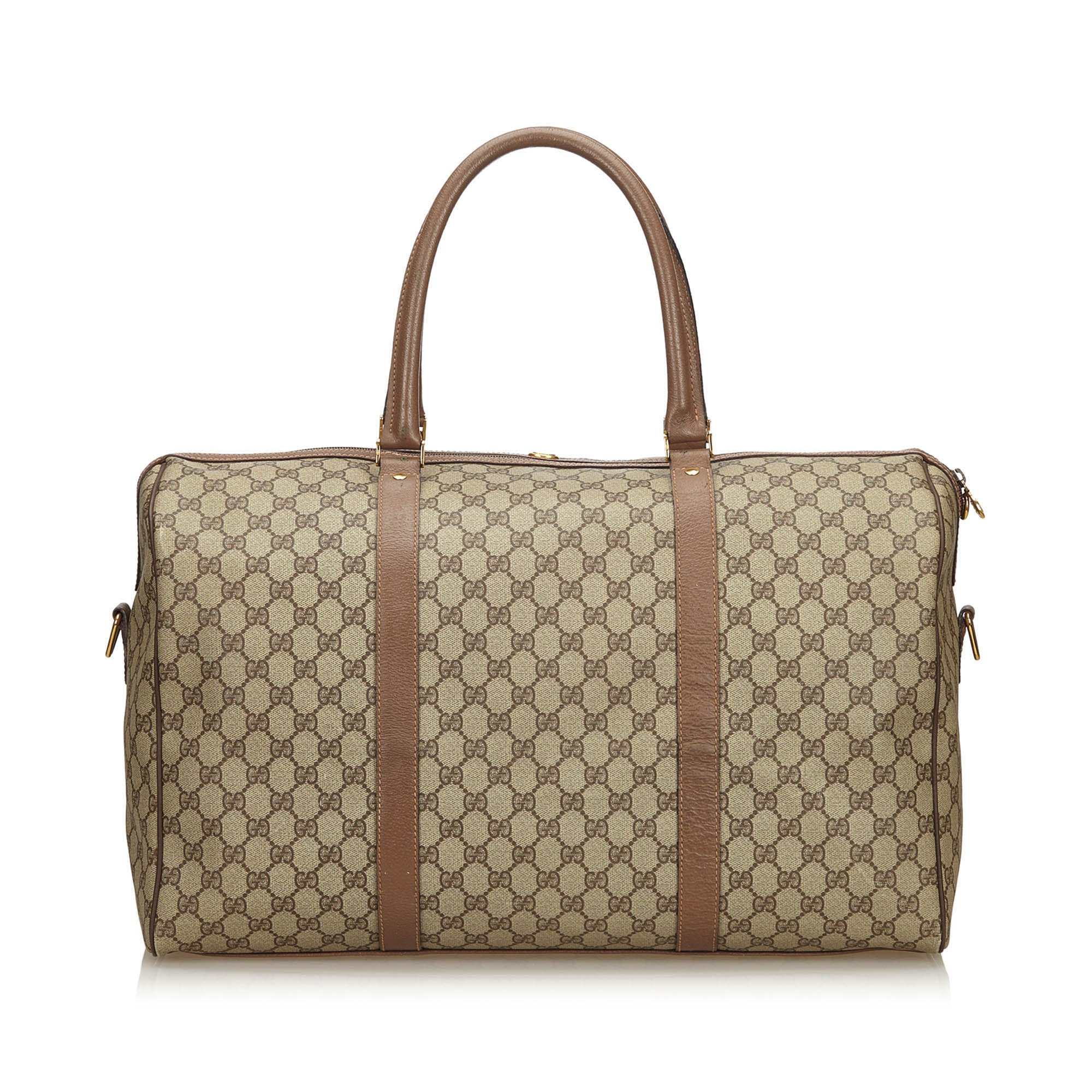 a5725d796333 Gucci Brown Guccissima Duffle Bag For Sale at 1stdibs