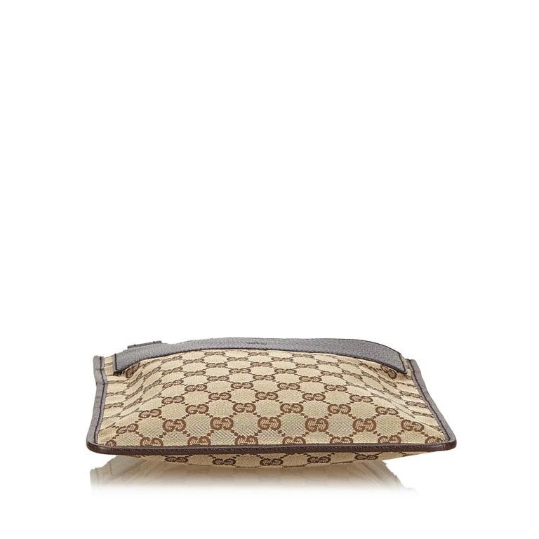 4d0d48b6f29 Women s or Men s Gucci Brown Guccissima Jacquard Crossbody Bag For Sale