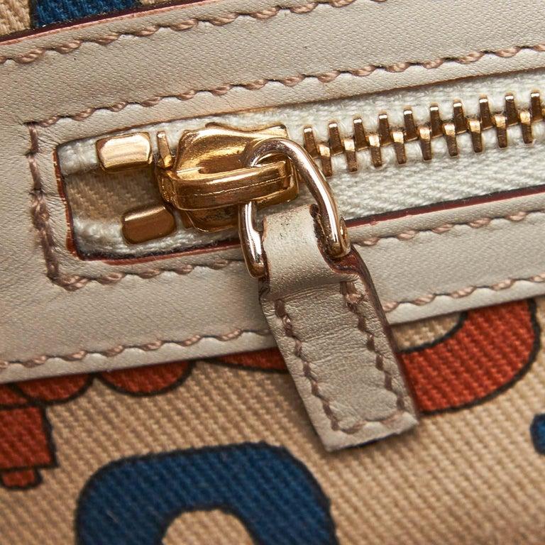 Gucci White Guccissima Leather Treasure Boston Bag For Sale 4