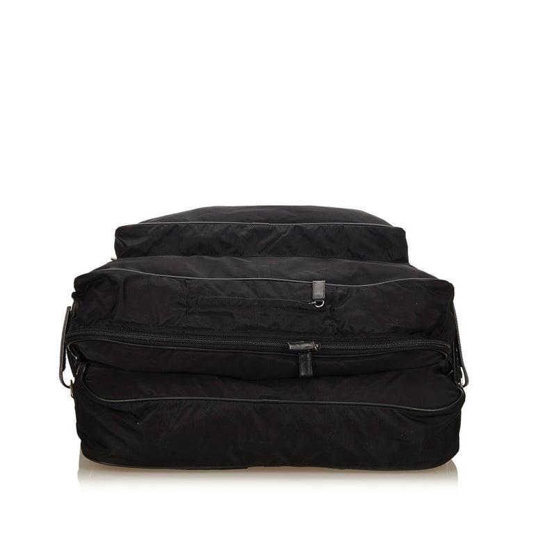 0ff448ea6119 Women's or Men's Prada Black Nylon Garment Bag For Sale