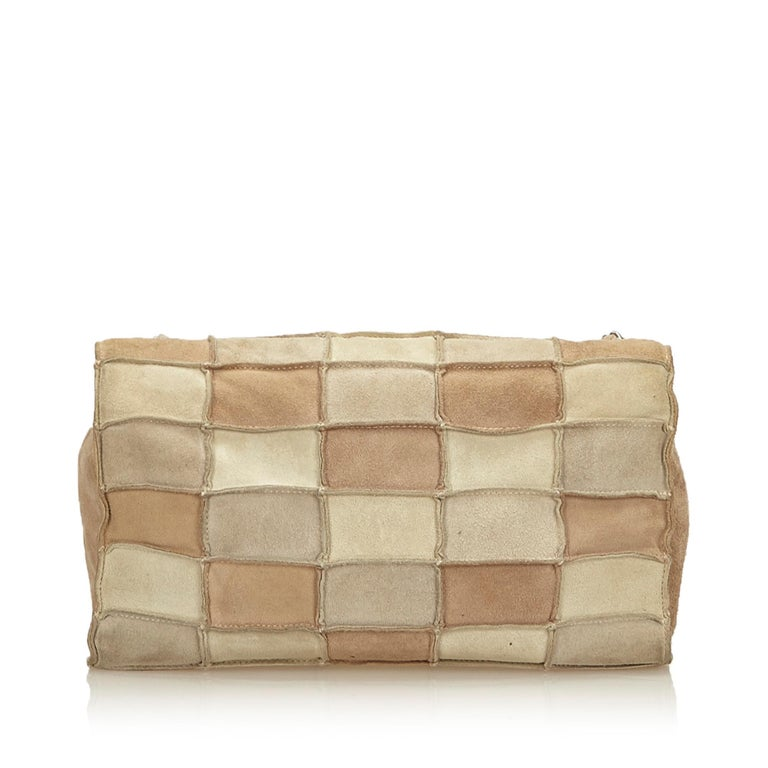 5ab8d11a8dcf Chanel Beige x Multi Reissue Patchwork Flap Bag In Good Condition For Sale  In Orlando,