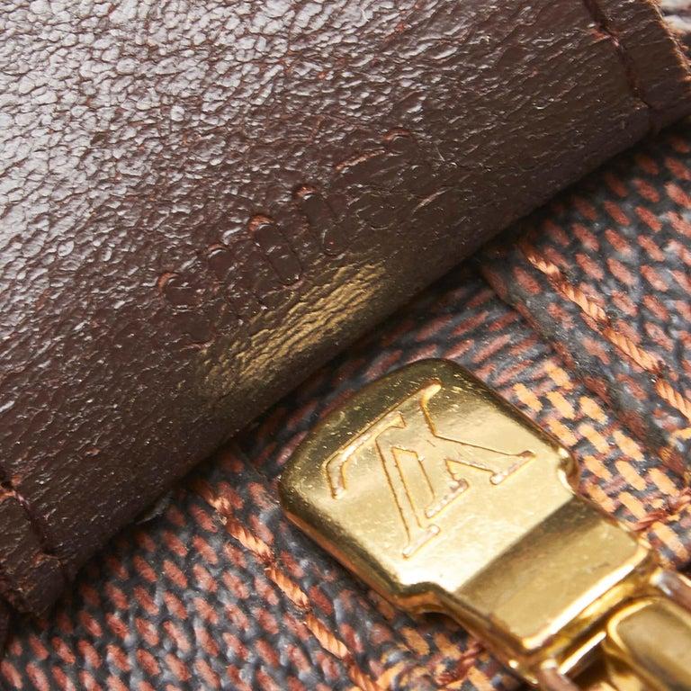 Louis Vuitton Brown Damier Ebene Naviglio For Sale 3