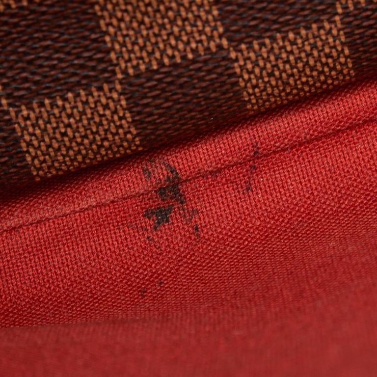 Louis Vuitton Brown Damier Ebene Naviglio For Sale 4