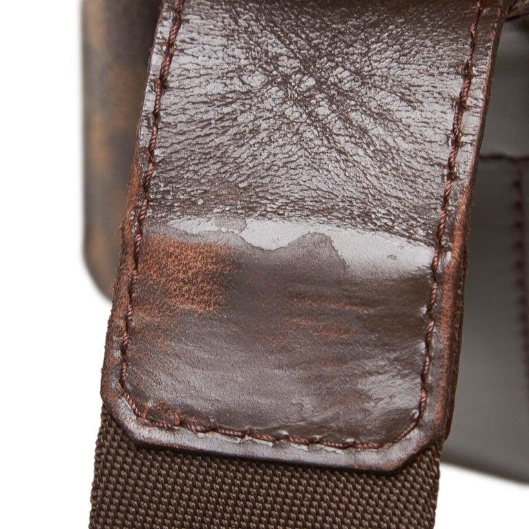 Louis Vuitton Brown Damier Ebene Naviglio For Sale 5