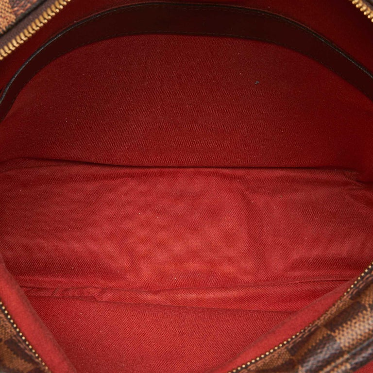 Women's or Men's Louis Vuitton Brown Damier Ebene Naviglio For Sale