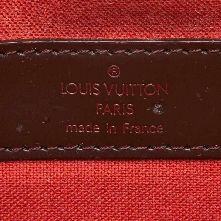 Louis Vuitton Brown Damier Ebene Naviglio For Sale 1