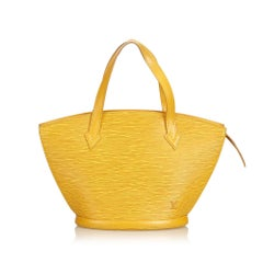 Louis Vuitton Yellow Epi Saint Jacques Short Strap