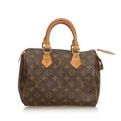 Louis Vuitton Brown Monogram Speedy 25