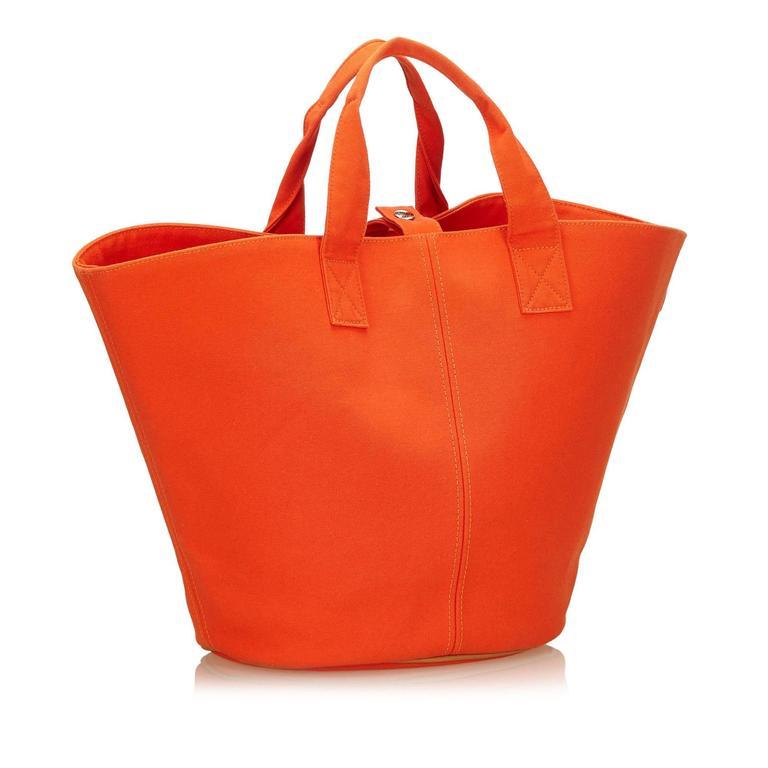 Hermès Orange Panier de Plage 2