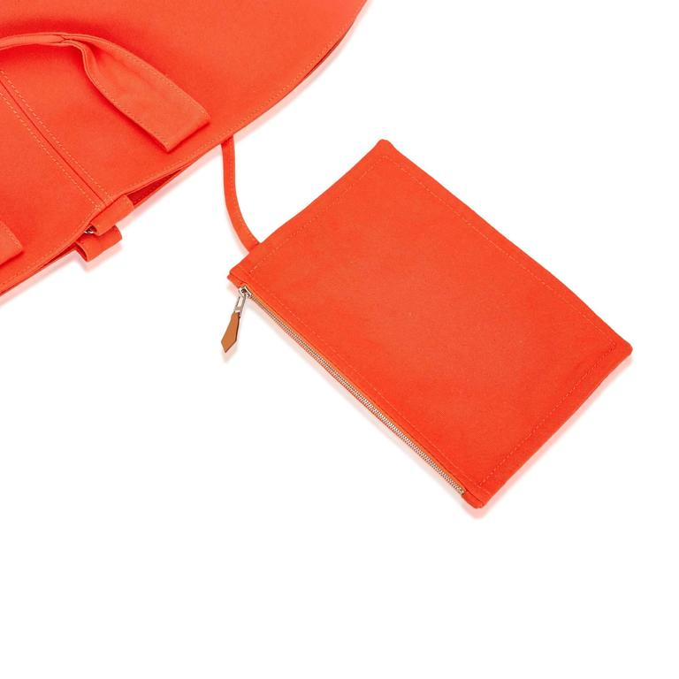 Hermès Orange Panier de Plage 7