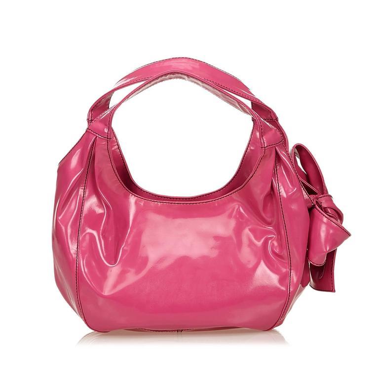 1stdibs Valentino Red Leather Bow Front Hobo Shoulder Bag dOgExuootJ