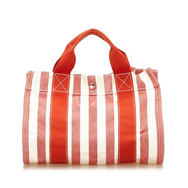 Hermes Red Cannes PM In Good Condition For Sale In Orlando, FL