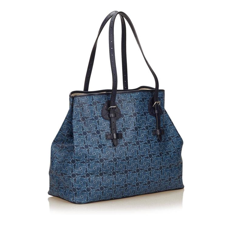 Celine Blue Tote Bag 2