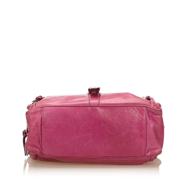 Women s or Men s Mulberry Pink Leather Shoulder Bag For Sale 502850a294e53