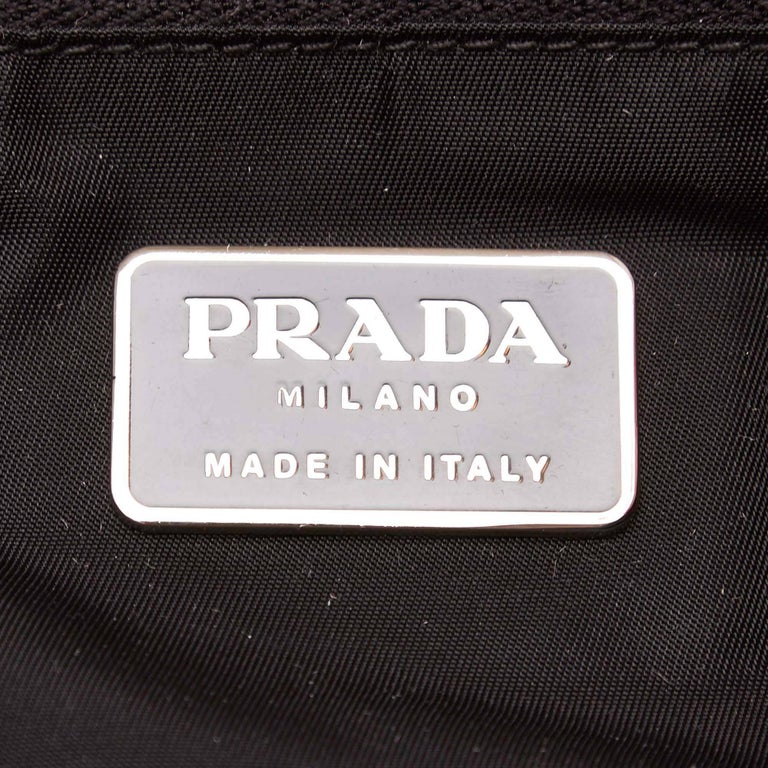Prada Black Nylon Handbag 6