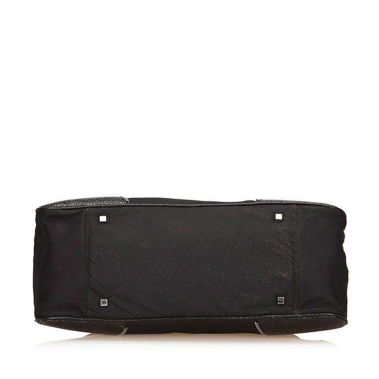 Dior Black Nylon Handbag 4