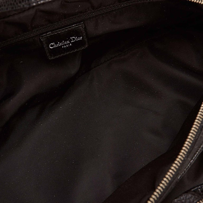 Dior Black Nylon Handbag For Sale 1