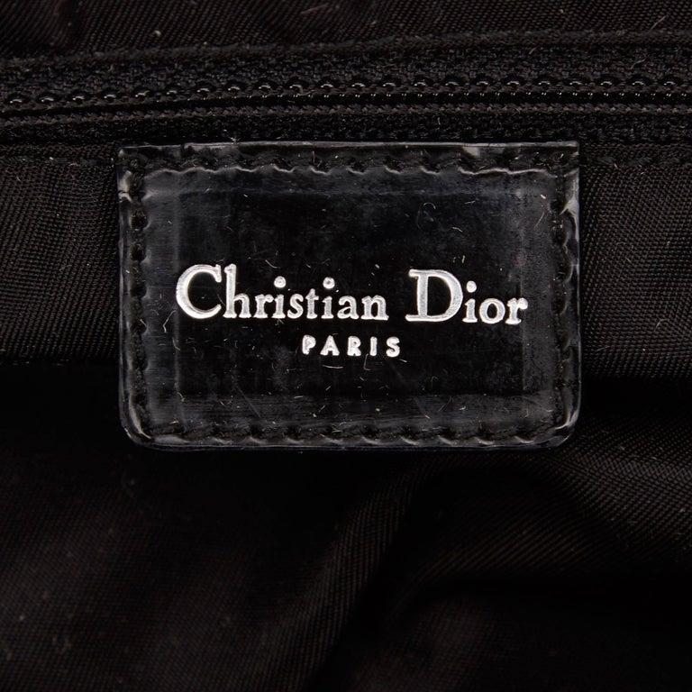 Dior Black Nylon Handbag For Sale 2