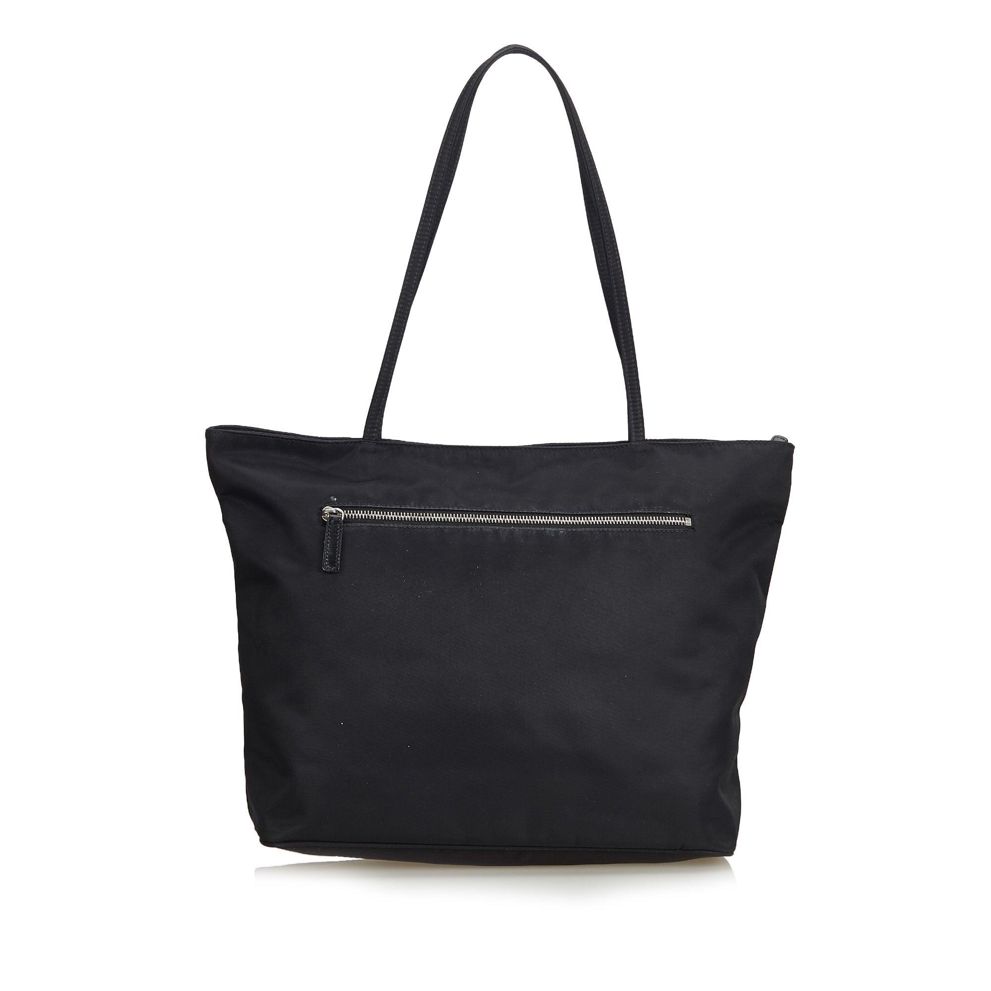889fe8d73e3 Fendi Black Nylon Tote Bag at 1stdibs