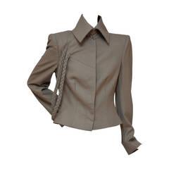 "Early Alexander McQueen  ""Braid"" Jacket  NEW Size 42IT"