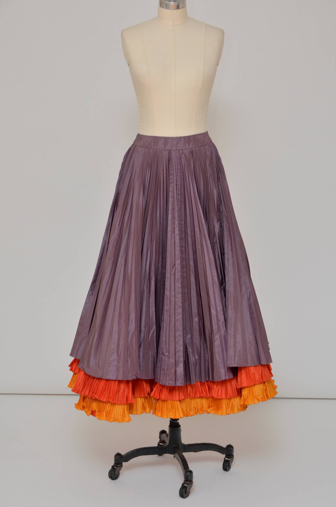 oscar de la renta vintage skirt mint for sale at 1stdibs