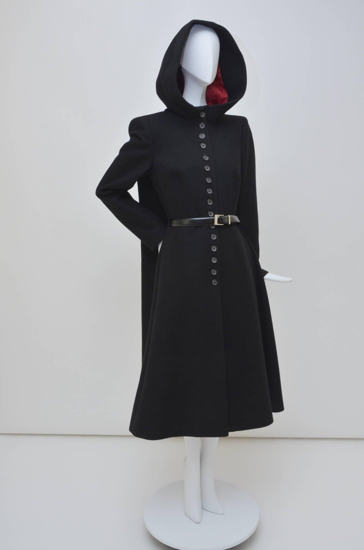 """Alexander McQueen  Cape Coat  Hooded  RUNWAY """"Joan"""" 1998/99 3"""