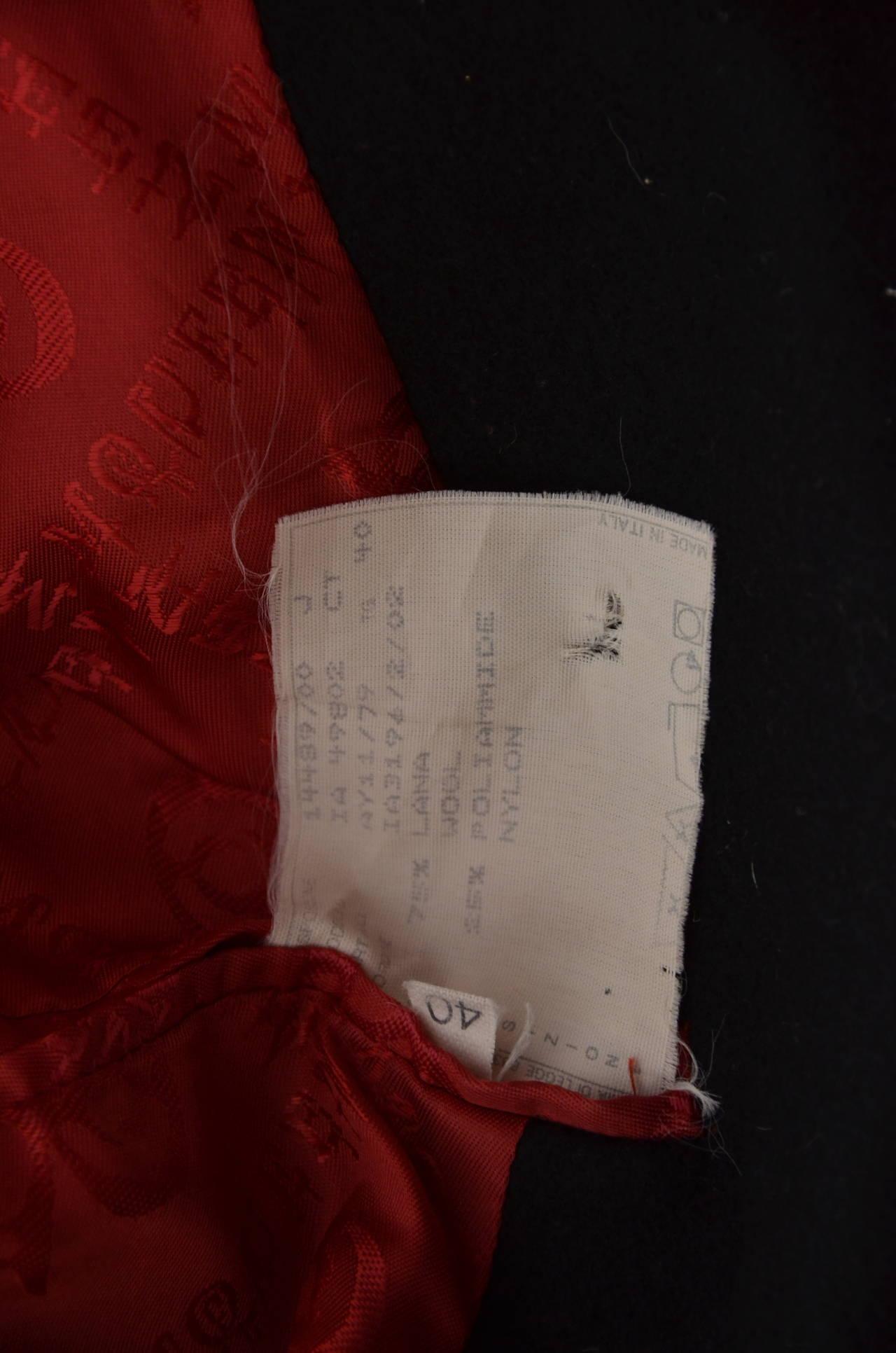 """Alexander McQueen  Cape Coat  Hooded  RUNWAY """"Joan"""" 1998/99 6"""