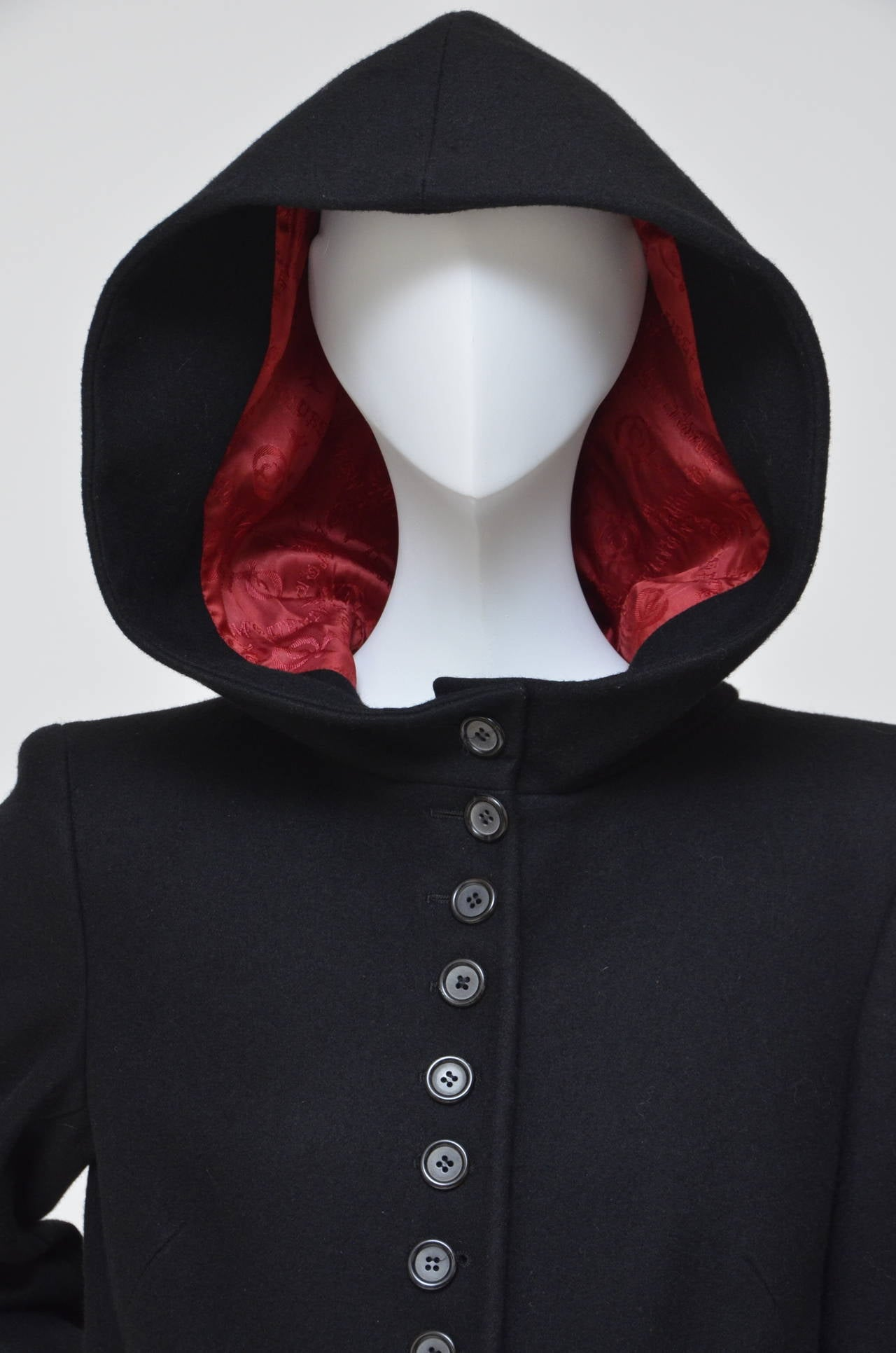 """Alexander McQueen  Cape Coat  Hooded  RUNWAY """"Joan"""" 1998/99 4"""
