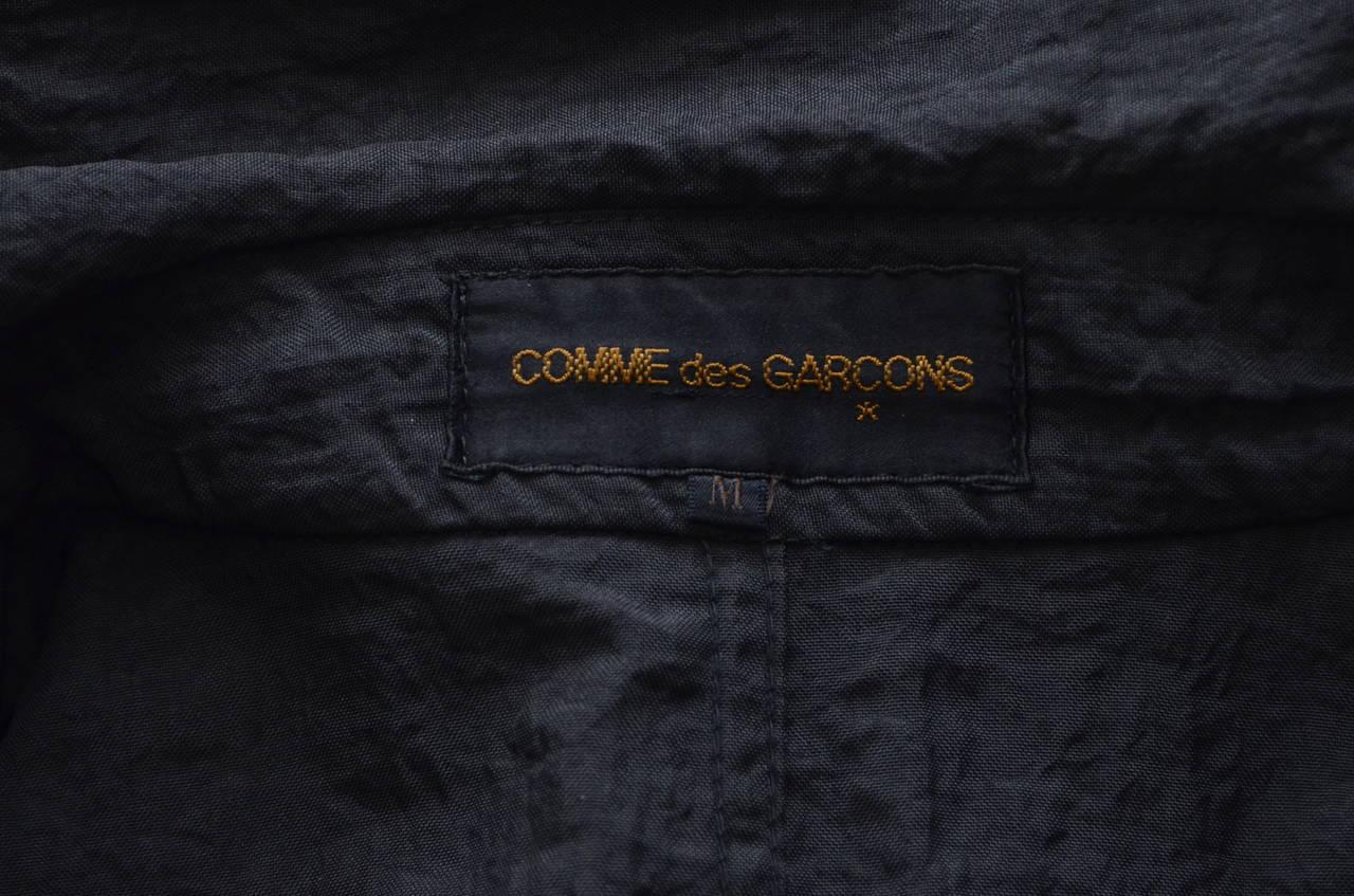 """Comme Des Garcons  """"Stuff"""" Coat Uniform  Automne Hiver 1985/1986 4"""