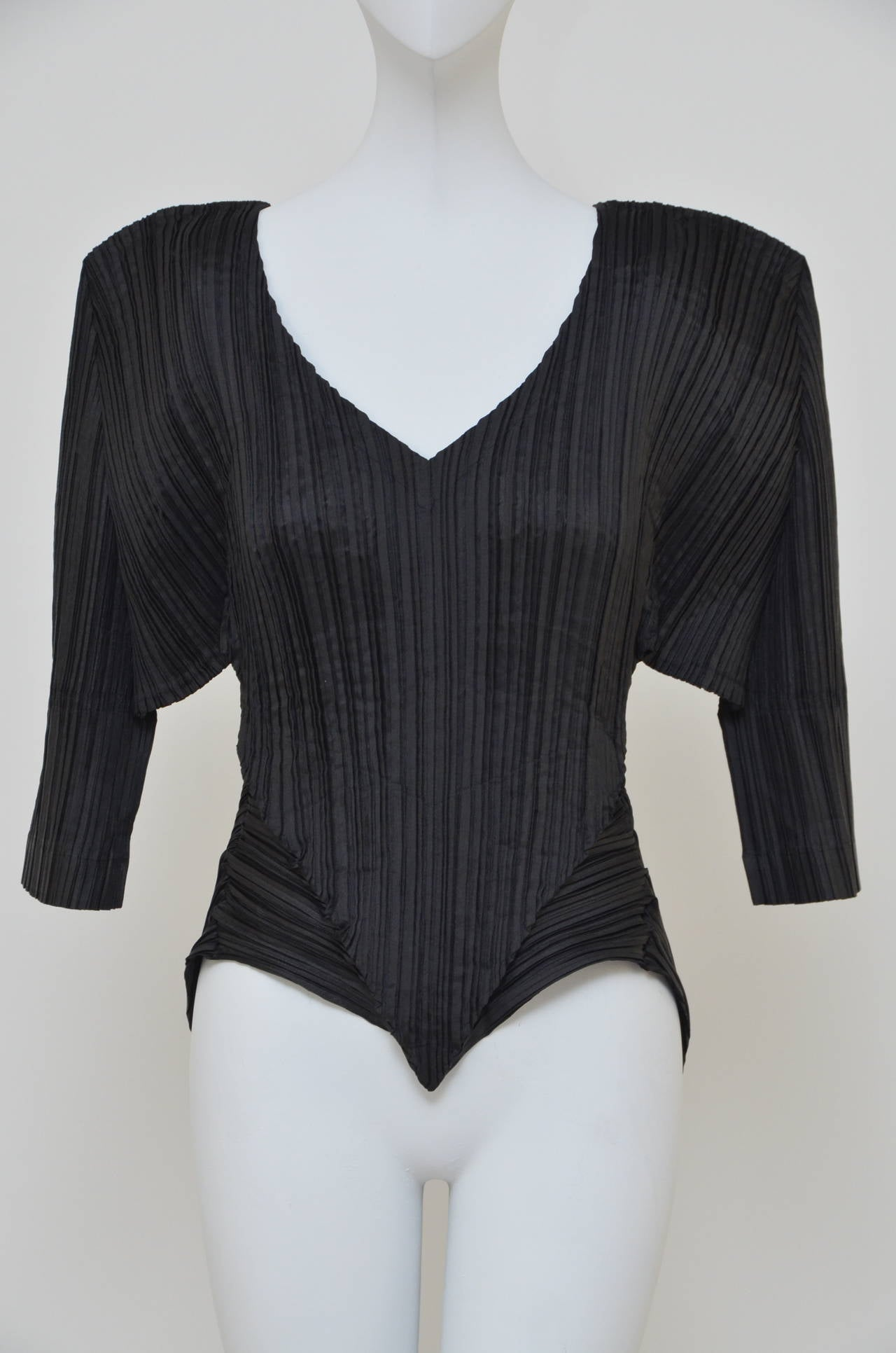 Issey Miyake  Origami Pleat  Top With Tails 1989 For Sale 1