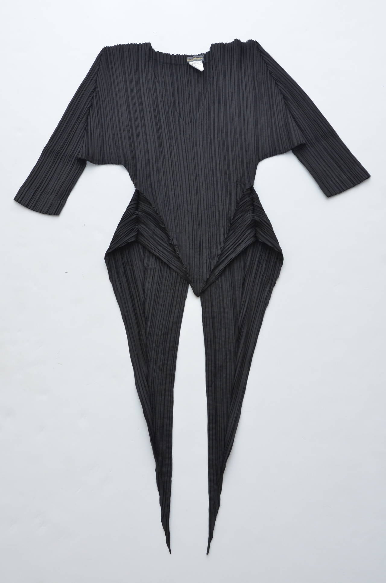 Issey Miyake  Origami Pleat  Top With Tails 1989 For Sale 2