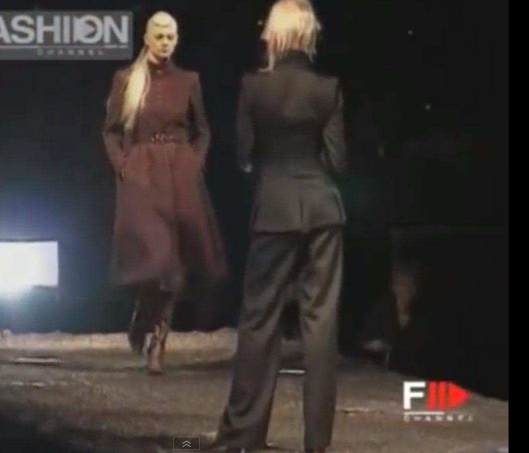 """Alexander McQueen  Cape Coat  Hooded  RUNWAY """"Joan"""" 1998/99 10"""