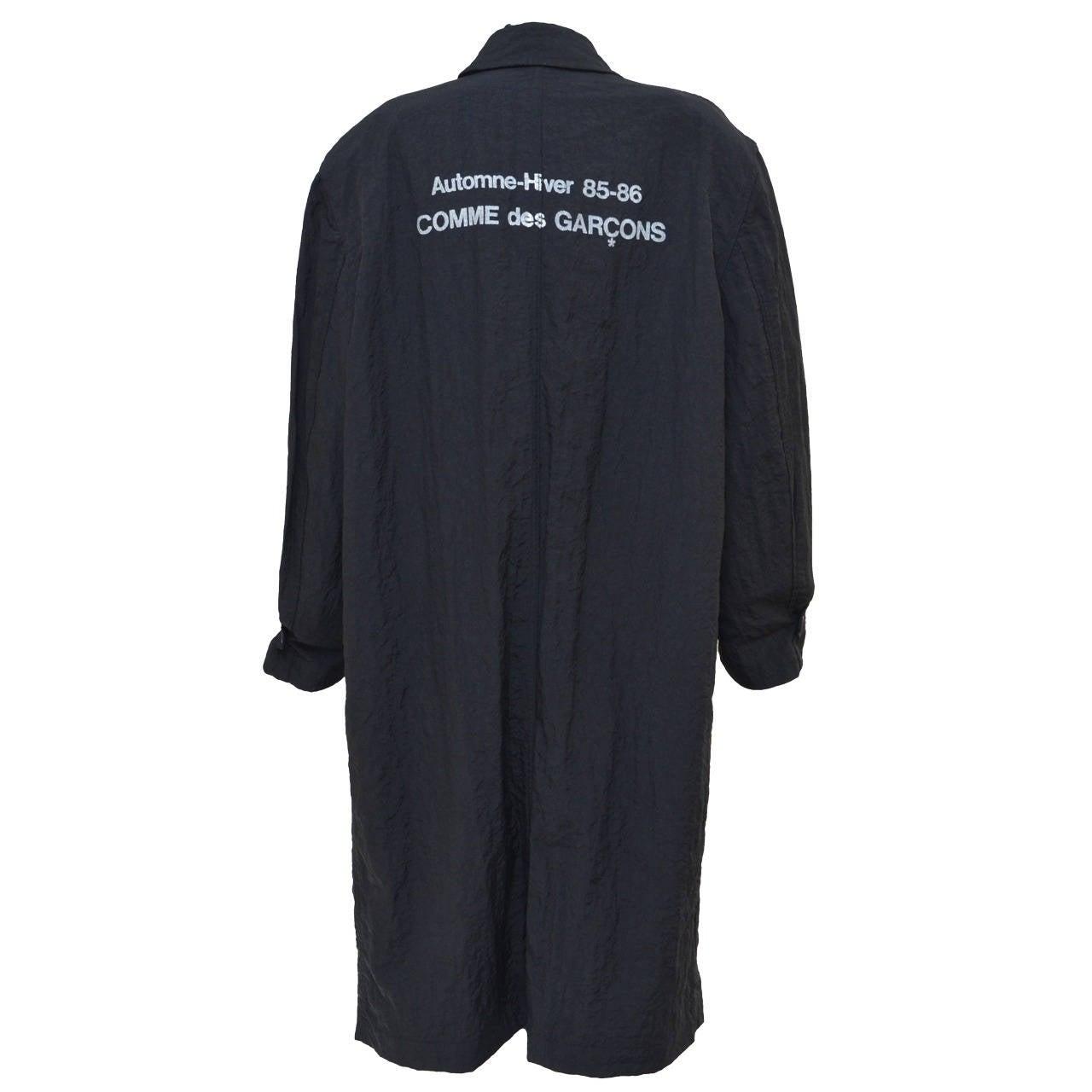 """Comme Des Garcons  """"Stuff"""" Coat Uniform  Automne Hiver 1985/1986 1"""