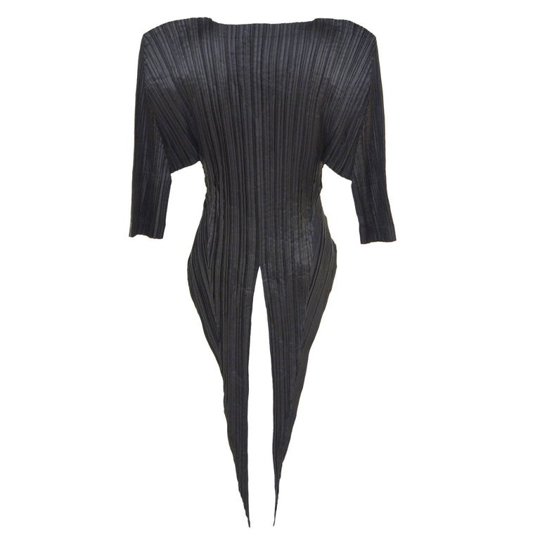 Issey Miyake  Origami Pleat  Top With Tails 1989 For Sale