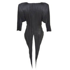 Issey Miyake  Origami Pleat  Top With Tails 1989