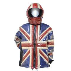 """Jean Paul Gaultier """"UNION JACK"""" Runway 2014 Jacket  New"""