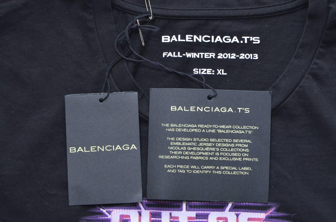 Balenciaga  T'S   T-Shirt 3