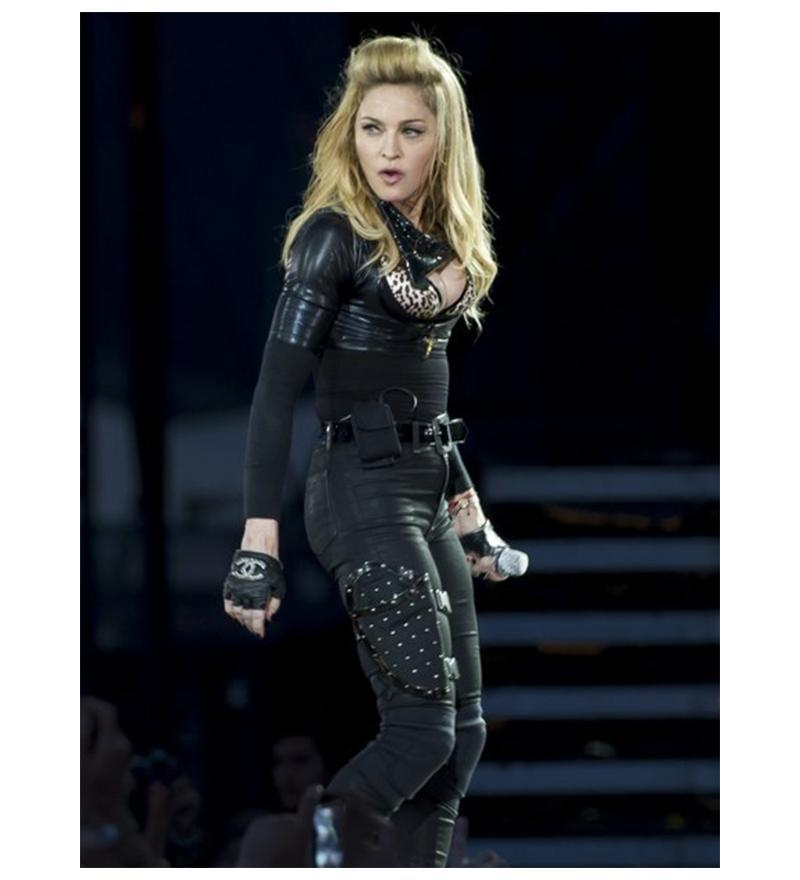 Chanel Embellished Gloves As Seen On Madonna, Fergie And Paris Mint 9